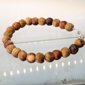 wood bracelet. made in Laguiole aveyron